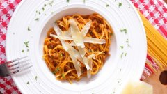 Спагети Болонезе по рецептата на Сандра