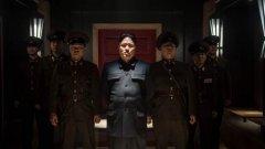 """Образът на Ким Чен Ун в """"Интервюто"""" - не е типичният филмов злодей. Въпреки че целият западен свят го мрази, във филма той дори изпитва симпатии към Запада или поне към Кейти Пери като негов представител"""