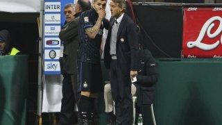 Манчини и Икарди са в отлични отношения.