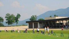 В голфа се изисква гъвкавост и синхрон между отделните части на тялото, необходими и на дансинга