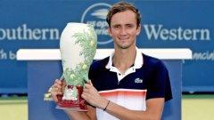 Медведев стана най-младият шампион в Синсинати от 2008 година насам, когато триумфира 21-годишният тогава Анди Мъри.