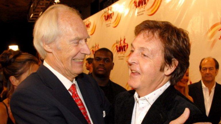 Легендарният продуцент на The Beatles сър Джордж Мартин почина на 90-годишна възраст на 9 март 2016 г.