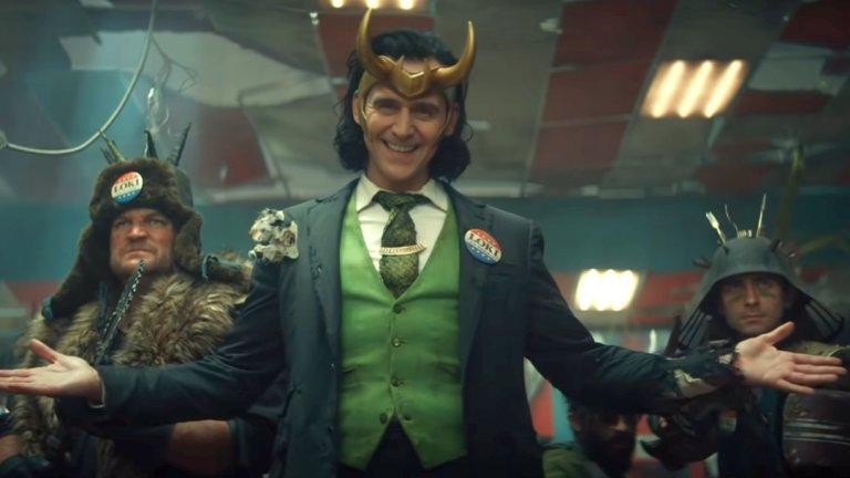 """Loki Премиера: май (сериал в Disney+) Вселена: Филмова вселена на Marvel  Той се завръща! Подобно на комиксовия оригинал, екранният Локи (Том Хидълстън) сякаш не може да умре. В случая обаче май ще гледаме не този Локи, който преживя редица лични катарзиси, а онзи, който в """"Отмъстителите: Краят"""" се измъкна нейде из Вселената, благодарение на заигравките на героите с пътуване във времето. Това ще му навлече неприятности с агентите, следящи за състоянието на реалността, времето и пространството (бюрокрацията е навсякъде) и е предпоставка за забавни ситуации. Локи работеше чудесно като поддържащ персонаж - предстои да видим как ще се справи и когато цялото действие се върти около него."""