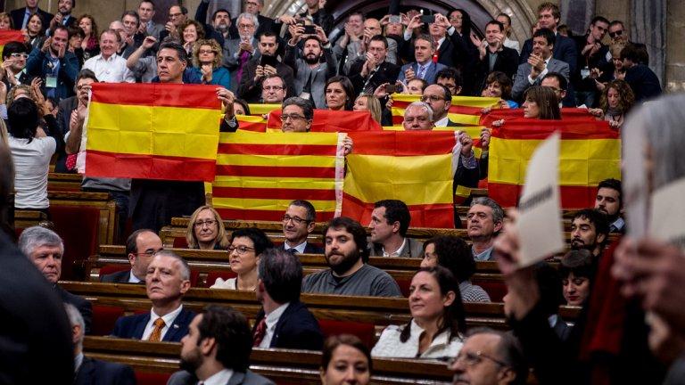 Каталонските сепаратисти преминаха от думи към действия