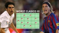 Най-слабите 11, играли в Ел класико през новия век...