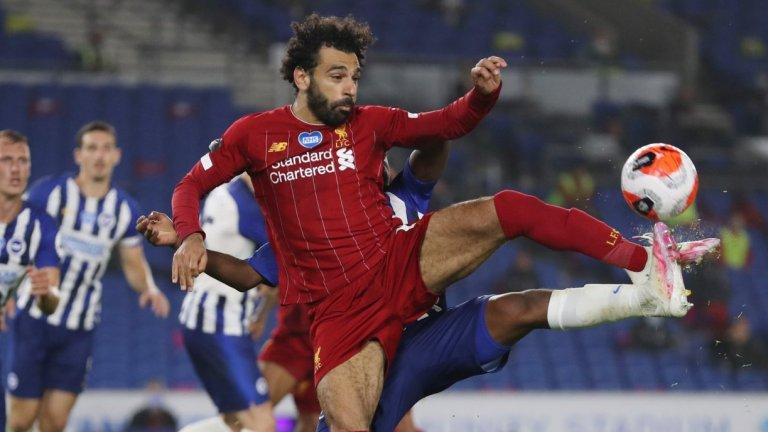Салах стана №1 за годината при нов успех на Ливърпул