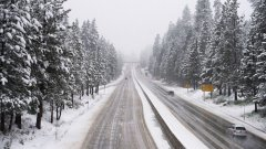 Бедствено положение е обявено в Смолян заради дъжд, който преминава в сняг