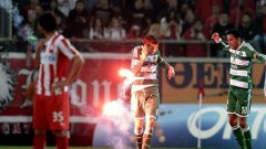 Лудото дерби бе спечелено с 3:0 от гостите от Панатинайкос.