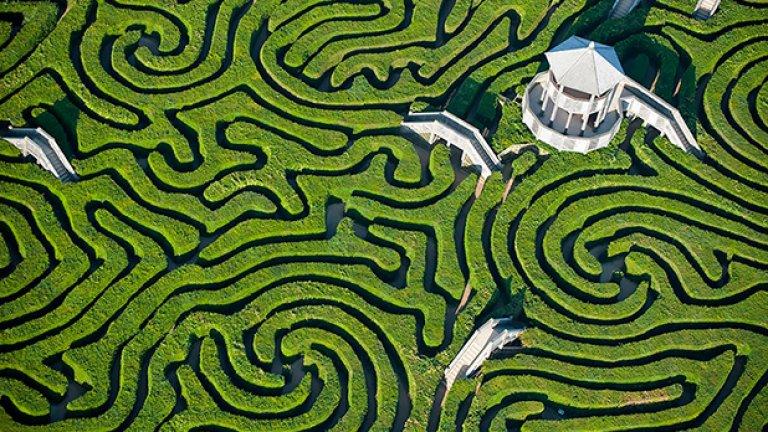 Maze at Longleat, Англия