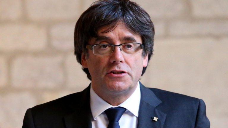 Каталунският лидер заяви, че не иска да бъде предаван на Испания