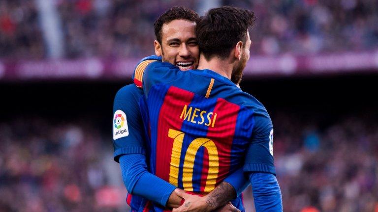 """Неймар отново ще играе с Меси в Барселона"""
