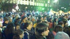 Вечерните митинги и шествия вече са забранени