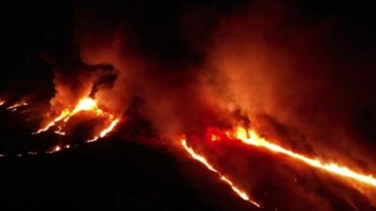 Пожарът е локализиран и няма опасност за жителите на Драгоман