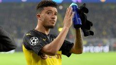 Дортмунд отхвърли първата оферта на Юнайтед за Санчо