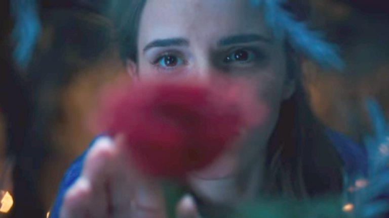 """""""Красавицата и звярът"""" / Beauty and the Beast (17 март)  Disney няма да се спре, докато не превърне всяка от анимационните си класики в пълнометражен игрален блокбъстър, и това се отнася и за """"Красавицата и звярът"""", базиран на хитовото филмче от 1991 г. Прокълнатият принц Дан Стивънс ще открие любовта в чистосърдечната прелестна  Ема Уотсън, принудена да заживее в замъка му заради решението на баща да я жертва, за да откупи собствения си живот."""