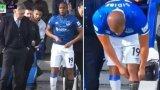 Анчелоти беше поразен, когато видя, че Сидибе тръгва да влиза на терена само с един чорап