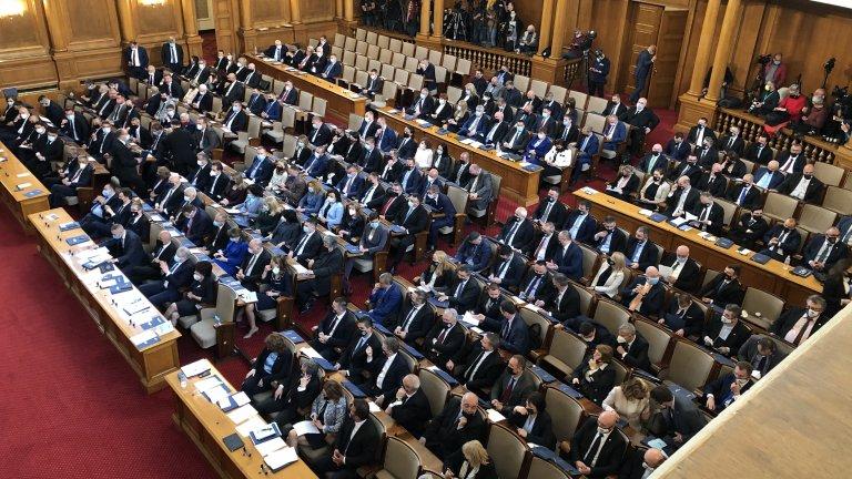 Лидерите на парламентарните групи изнесоха своите програмни речи