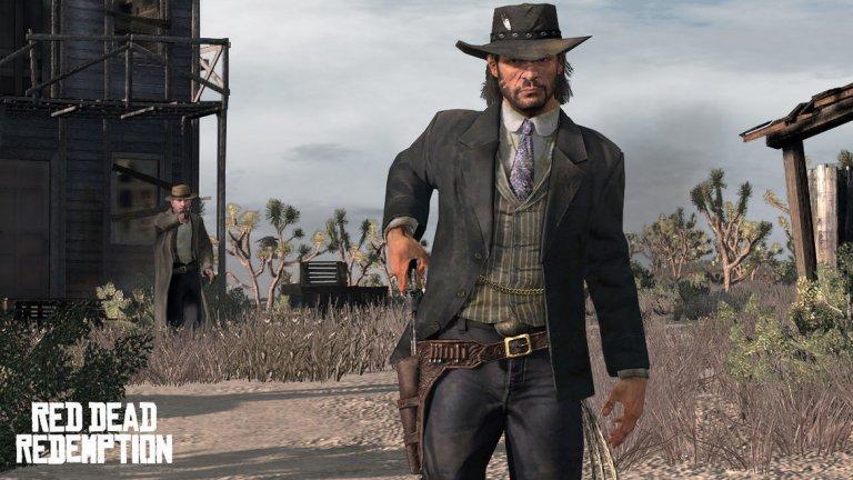 """Red Dead Redemption (PS3, Xbox 360)  Годината е 1911. Мястото - Дивият американски запад. Запознайте се с Джон Марстън - бивш бандит, който е решил да стане част от по-примерната прослойка на обществото. Вече щастливо женен и с дете, той има и тъмно минало, заради което е вербуван. Предложена му е сделка, която гласи, че ако намери и предаде на закона бившите си приятели от бандата, с която се е движел, ще бъде помилван за предишните си деяния. С развитието на историята ще видите как представителите на закона далеч не са примерни хора, а Марстън е оставен почти без избор относно """"сделката"""", ако иска да има нормален живот.   Всъщност героите, които ще срещнете по време на приключението, до един са изненадващо колоритни - от корав шериф през мексикански революционер до преподавател в Йейл. Следват десетки часове на погранични приключения, лов, престрелки и борба за оцеляване, за да се стигне до знаменития финал и своеобразния епилог на историята. Red Dead Redemption е игра колкото за човешките отношения, толкова и за суровата природа, на чийто фон се развиват те."""