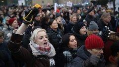 Мерките срещу коронавируса ограничават масовите събирания като през 2016 и 2018 г. (на снимката: протест срещу плановете на праавителството за ограничаване на абортите през 2018 г.)
