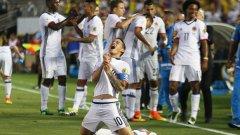 Хамес Родригес се отчете с гол и асистенция за втория пореден успех на Колумбия на юбилейната Копа Америка