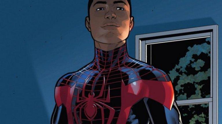 Питър Паркър вече е част от миналото на Marvel - официалният Спайдърмен се казва Майлс Моралес