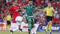 Двата гола на Вандерсон не стигнаха на Лудогорец тази вечер и след поредния луд мач в Европа българският шампион отпадна