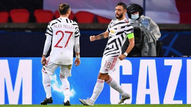 """Алекс Телес обясни защо е променил мнението си за """"дразнещия"""" Бруно Фернандеш"""