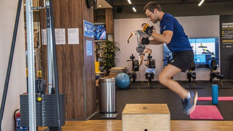 В следващите три месеца Балабанов има за цел да повиши издръжливостта и бързината си, а не да качва мускулна маса.