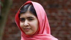 17-годишната Малала е най-младият нобелов лауреат.