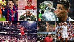 Представители на осем спорта попълниха топ 20 на най-богатите спортисти за всички времена (бокс, бейзбол, Наскар, Формула 1, тенис, футбол, баскетбол, голф). Вижте кои са те в галерията…
