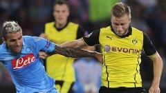 Първият мач между двата тима бе спечелен от Наполи с 2:1.
