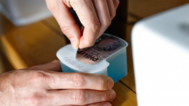 Бръсначките от Серия 7000 могат да се ползват и за мокро бръснене, с гел или пяна, дори и под душа.