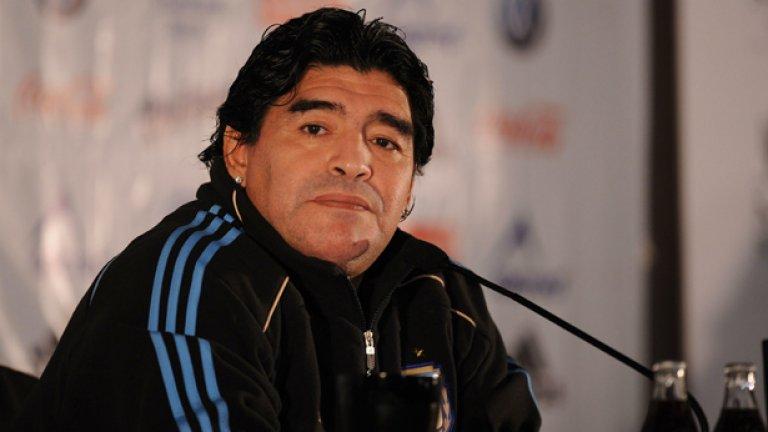 Диего Марадона и Аржентина са фаворит за първото място в група В