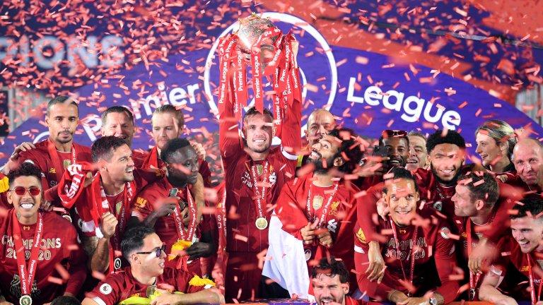 През тази седмица Ливърпул вдигна титлата.