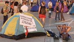 Антиправителствените протести продължават вече 27-и ден