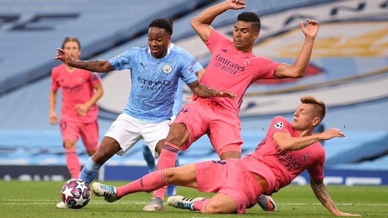 Два гола на Роналдо не стигнаха на Юве, Сити довърши Реал с помощта на Варан