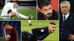 Всичките 7 представители на калчото в евротурнирите отпаднаха доста безславно и затвърдиха впечатлението, че проблемите на местния футбол са дълбоки