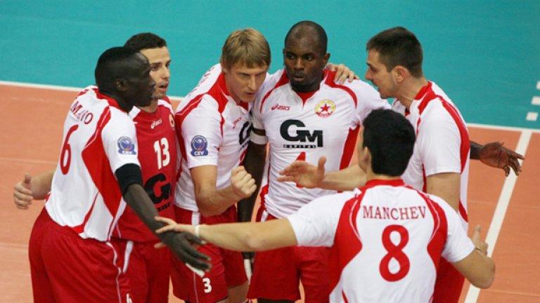 ЦСКА отново провокира сравнения между волейбола и останалите колективни спортове