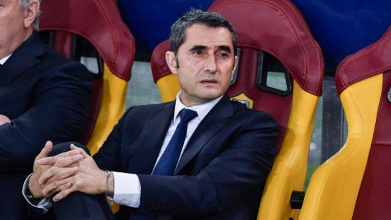 """5. Валверде не бива да е толкова консервативен  Въпреки отпадането от Лигата, Барселона все още може да завърши сезона с дубъл в Испания, а Ернесто Валверде свърши отлична работа през първата си година на """"Камп Ноу"""". Но за да се докаже на най-високо ниво, от него ще се очаква да покаже повече смелост в подхода към мачовете. Още начело на Атлетик Билбао Валверде беше критикуван за слабите си показатели в гостуванията. Сега консервативният му подход и пасивността по време на мача костваха това 0:3 от Рома и отпадането тази година, но той все още има време да се поучи от грешките си."""