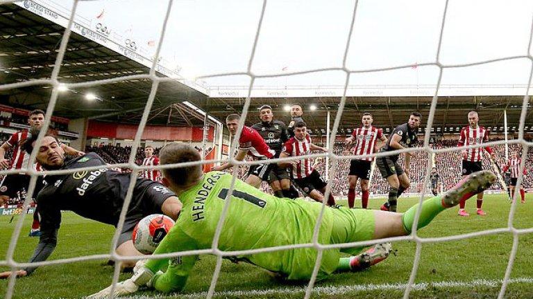 Хендерсън направи страхотен сезон с Шефилд Юнайтед.