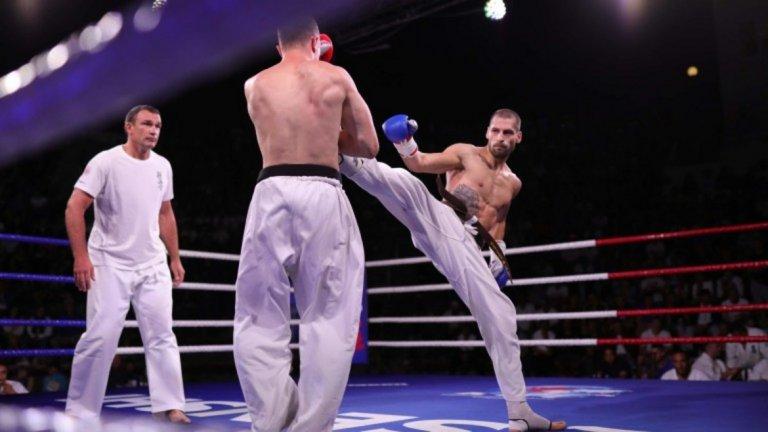 Стойков доминираше напълно във финала и заслужи купата от третото издание на Senshi