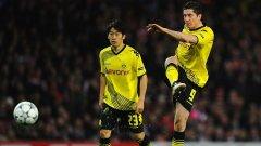 Кагава и Левандовски може отново да играят заедно, но в Юнайтед