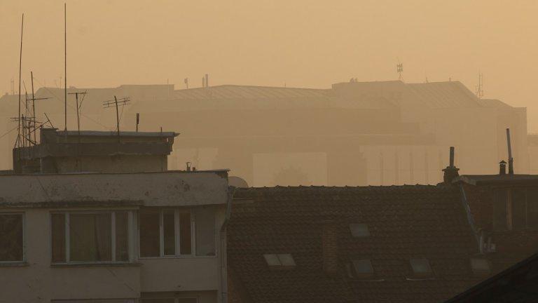 Превишение с близо 4 пъти на ФПЧ има в София, Перник, и Благоевград