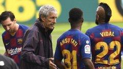 Сетиен остава в Барселона и през следващия сезон