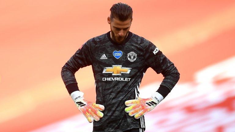 Де Хеа закопа Юнайтед и ще гледаме лондонско дерби на финала за ФА Къп