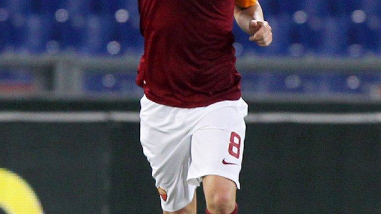 Ляич донесе точка на Рома с 2 гола.