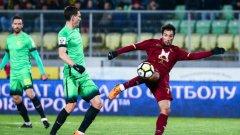 Ивелин Попов с красив гол в дебюта си за Рубин (видео)