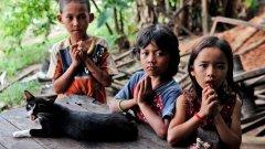И бумът на сиропиталищния туризъм в Камбоджа