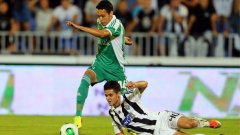Марселиньо бе от футболистите на домакините, които пропуснаха най-много положения.