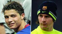 И Кристиано, и Лео бяха близо до Арсенал в началото на професионалните си кариери.
